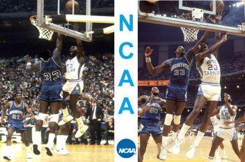 Ewing Jordan NCAA