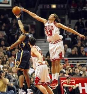 Noah Blocks Rush