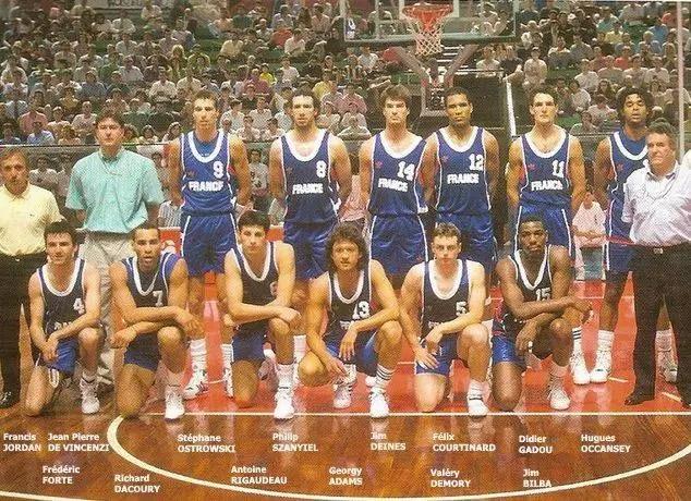 France europe basket 1991