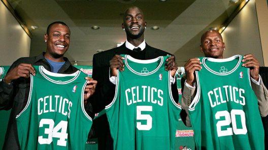 Le Big three des Celtics