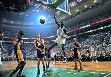 En final NBA face aux Lakers