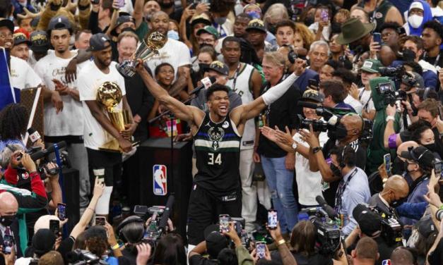 Les Milwaukee Bucks sont champions NBA