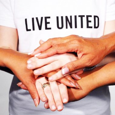 Live United many hands_cropped