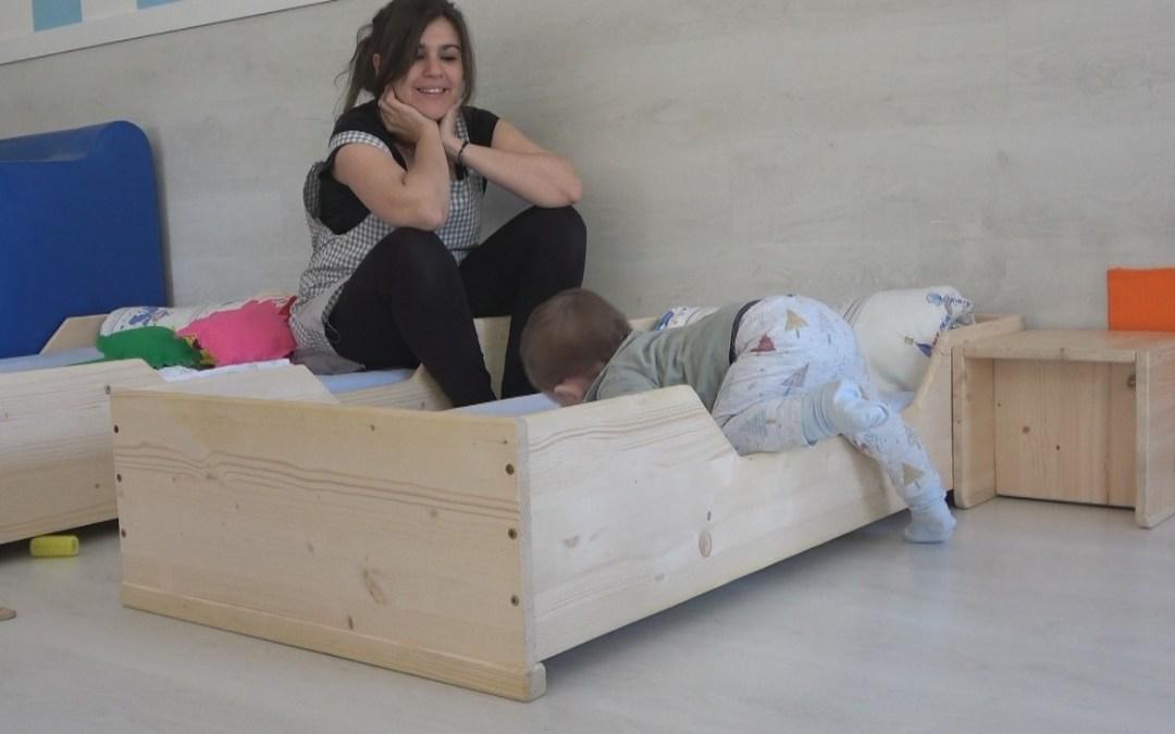 Mobiliario Montessori en la Guarde del Huerto