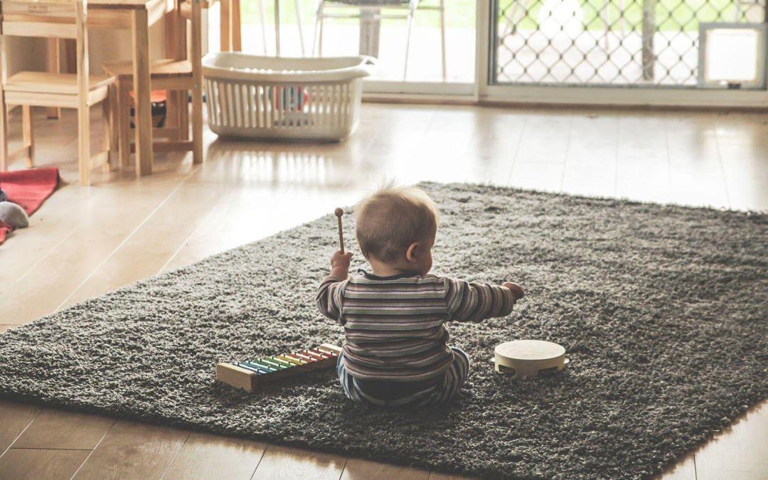 Crear un espacio de juego según el método Montessori