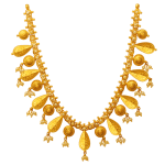 Pearl Necklace (Leaf inspired design)