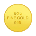 Gold Coin 50 Gm 995