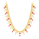 Pearl and Coral Necklace