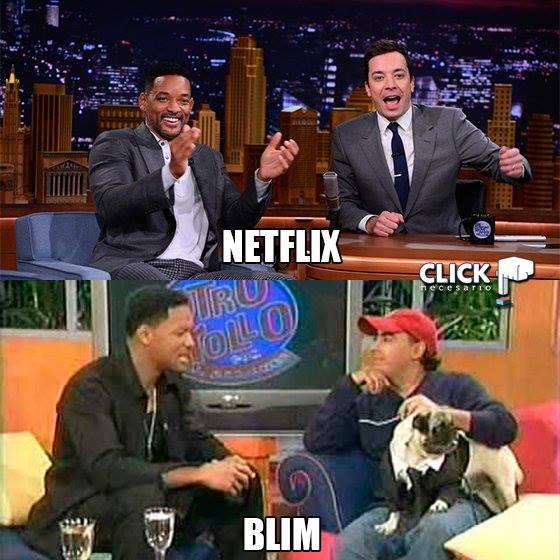 Memes Blim vs Netflix