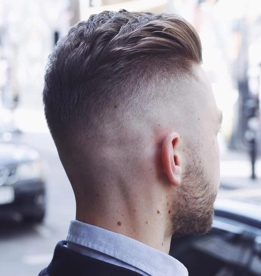 Mid fade con barba y top corto cortes de pelo 2019. Los 7 mejores cortes de cabello que todo hombre debe probar