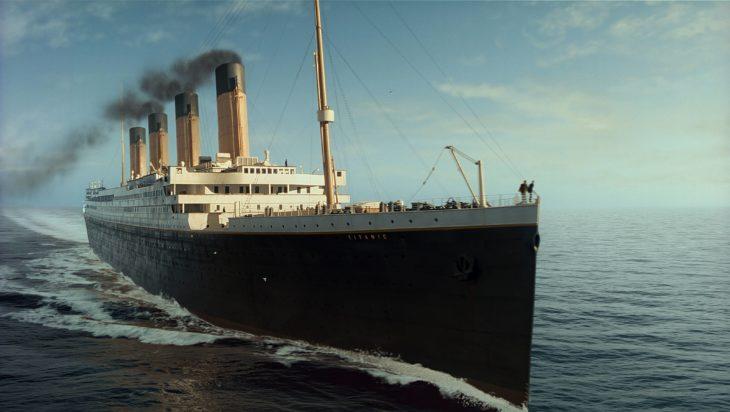 Recreación del Titanic