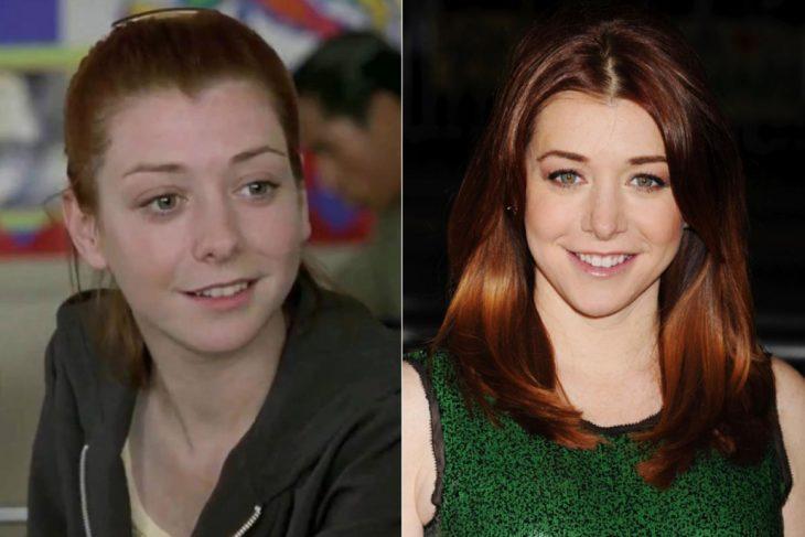 Alyson Hannigan antes y después