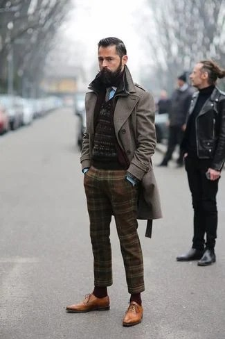Abrigo lana calle