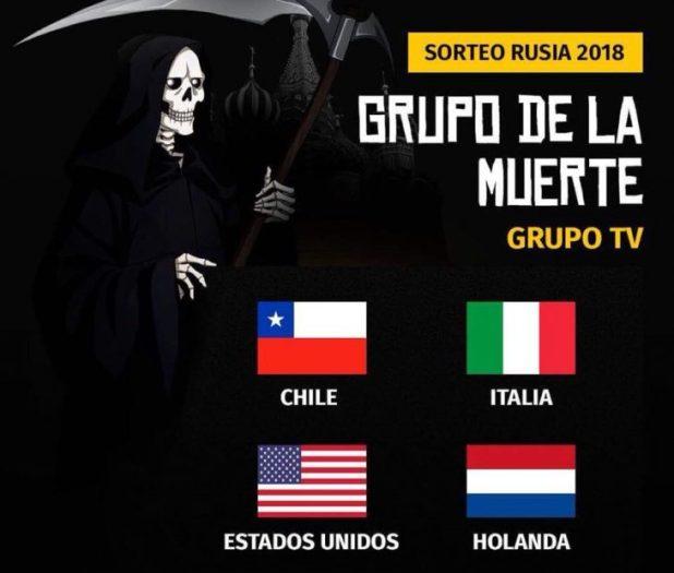 meme ¡mundial 2018 sorteo