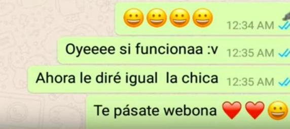 vane y tomas amor whatsapp viral