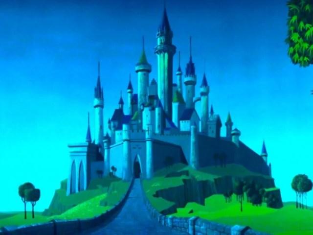 Castillo en La Bella Durmiente
