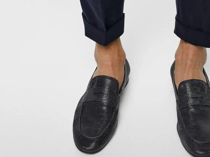 zapatos sin calcetin