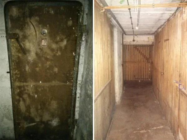 Cosas siniestras en casas viejas bunker