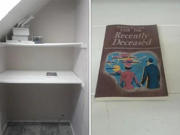 Cosas siniestras en casas viejas libro