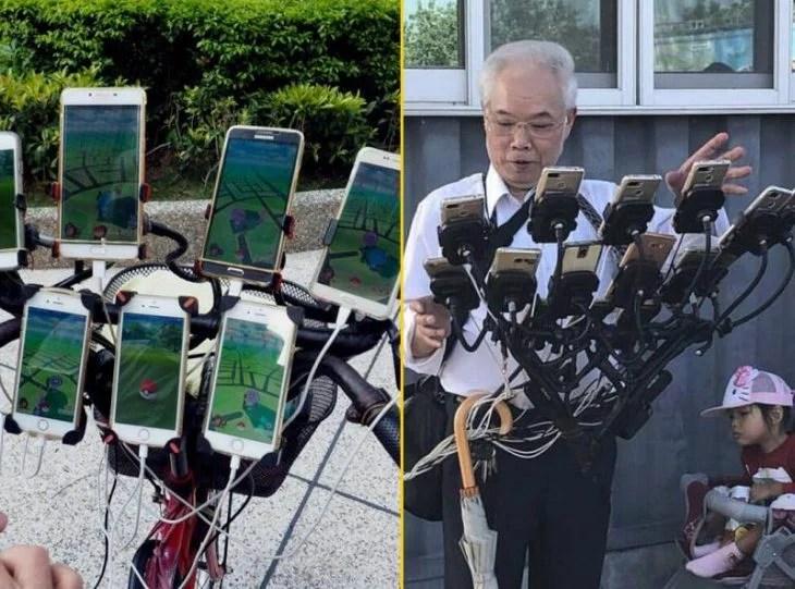 cosas bizarras en China pokemon go