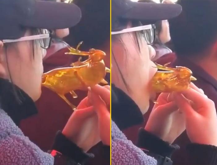 cosas bizarras en China paleta