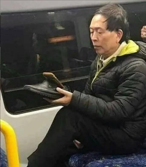 cosas bizarras en China zapato