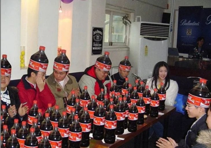 cosas bizarras en China fiesta