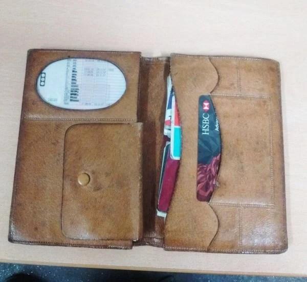 Objetos antiguos que aún sirven billetera