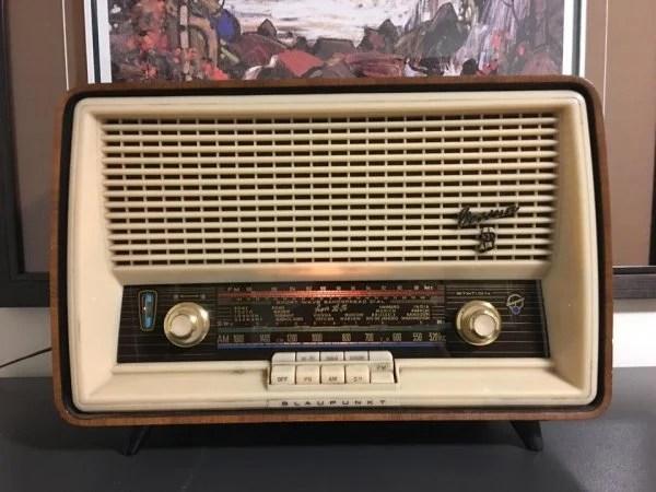 Objetos antiguos que aún sirven radio