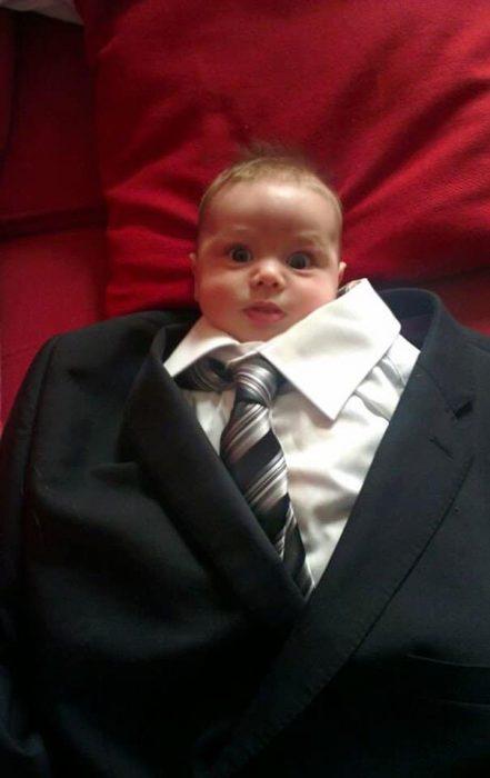 papás a cargo bebé cont raje