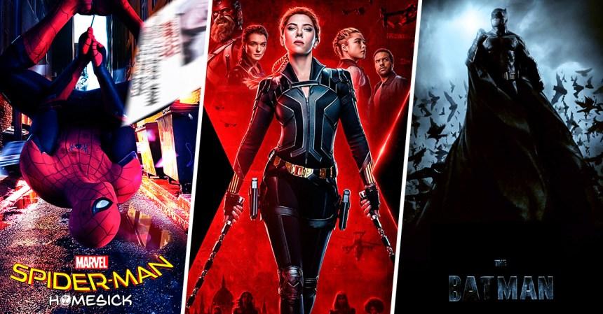 Fechas de estrenos de 15 grandes películas de superhéroes