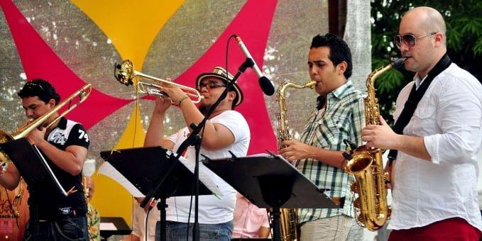 """Imagen de la agrupación """"La Bandita"""" de la ciudad de Barranquilla. Se presentará en Monteria en el Monteria Jazz Night Festival"""