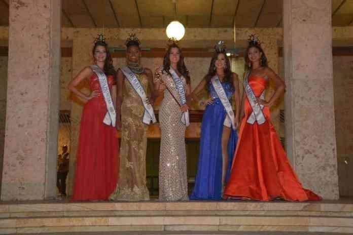reina, virreina y princesas del reinado nacional de la belleza