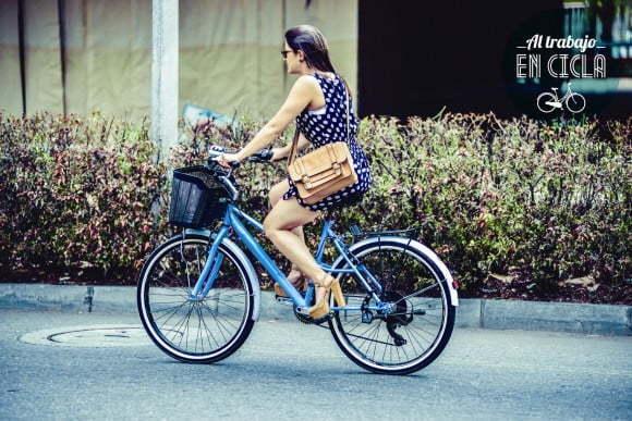 ir a trabajar en bicicleta