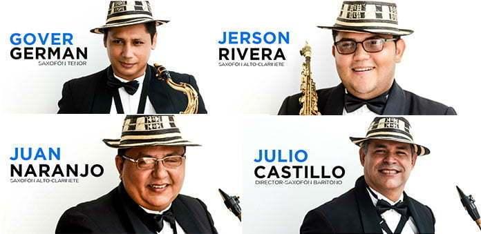 sinu-sax-quartet-esta-integrado-por-julio-castillo-jerson-rivera-juan-naranjo-gover-german