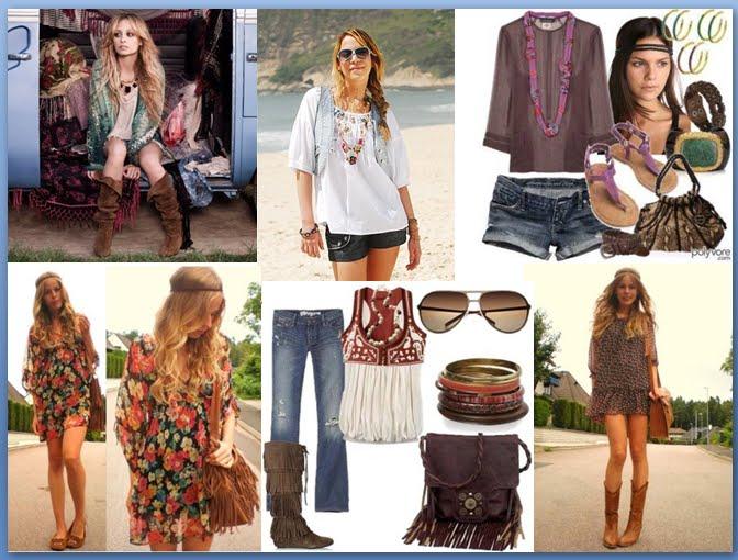 estilo hippie chic