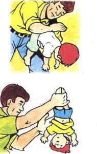 Ahogos en caso de niños