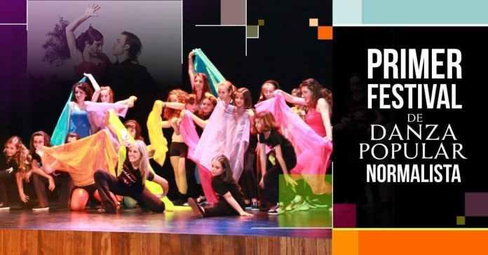 Primer Festival de danza popular Normalista