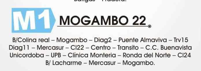 Ruta mogambo 22