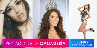 Candidatas internacionales al Reinado de la Ganadería