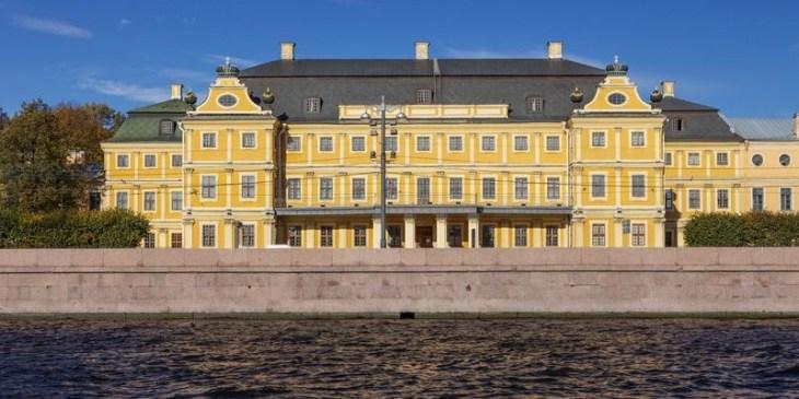 El palacio del conde Ménshikov   San Petersburgo