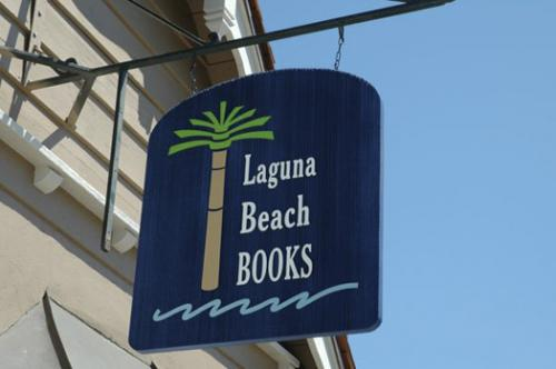Laguna Beach Books sign