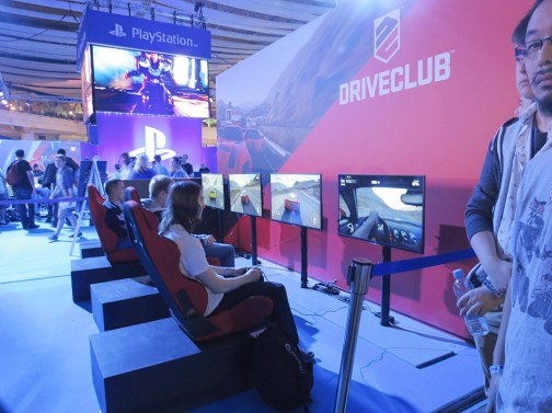Stand de Driveclub