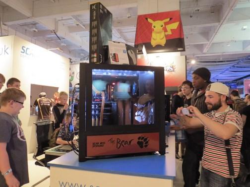 The Bear, una gigantésca torre gamer de Scan 3XS Systems