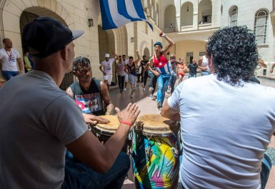 In Cuba there's a soundtrack to almost everything you do. Eat lunch, sip a cocktail, or pause on a cobbled street and wait for the ripple of fingers on guitar strings, the scratching sound of a güiro (an open-ended gourd stroked with a stick), a resonant tap on a bongo.