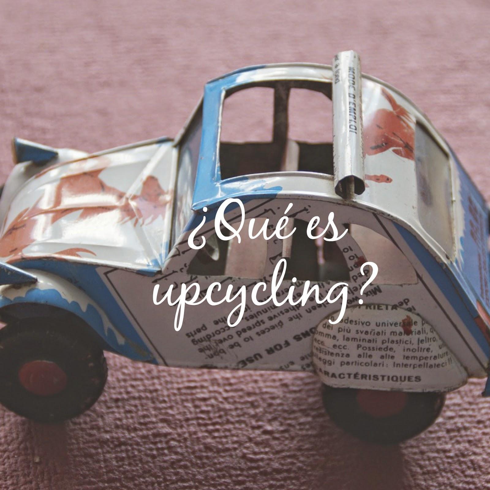 upcycling hipotesis gaia blog