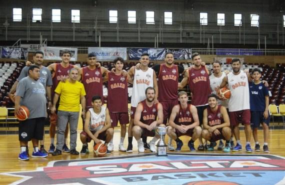 Mañana en el Delmi Salta Basket vs Sportivo América