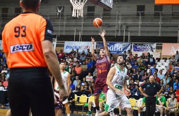 Salta Basket no pudo repetir el triunfo frente a Barrio Parque