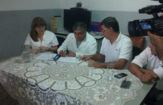 Pusieron en funciones al nuevo gerente del hospital de Rosario de Lerma