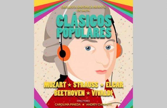 La Orquesta Sinfónica Infantil presenta un programa con las obras más famosas de la música clásica
